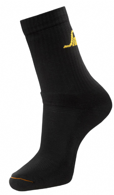 Snickers 9211 AllroundWork 3-pack Basic Socks (Black)